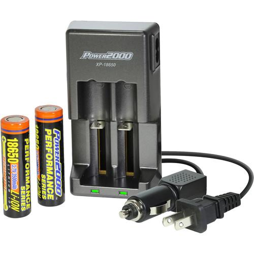 Vidpro Power2000 XP-18650 Battery and Charger