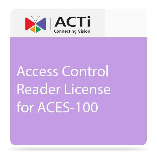 ACTi LACS1000 Access Control Reader License
