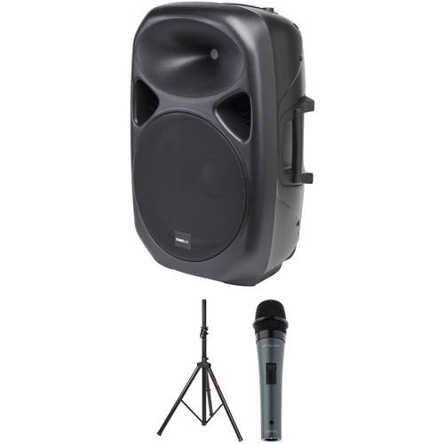 Tourtek GP15a Active PA Speaker Kit