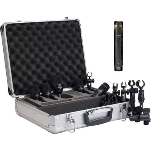 Audix FP5-Plus Pack with F9 Condenser