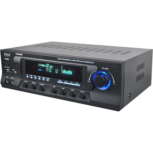 Pyle Pro PT272AUBT Stereo Receiver with Bluetooth, Pyle, Pro, PT272AUBT, Stereo, Receiver, with, Bluetooth