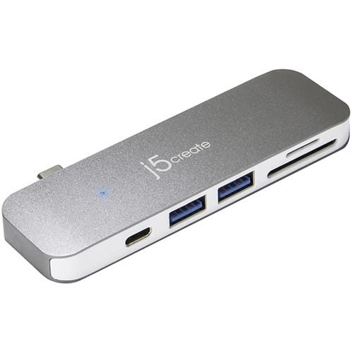 j5create USB Type-C 6-in-1 Dock