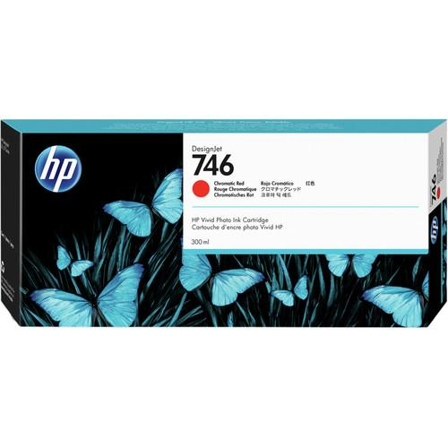 HP 746 Designjet Chromatic Red Ink