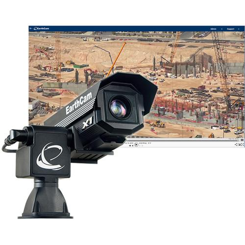 EarthCam GigapixelCam X1 Professional User-Controllable PTZ