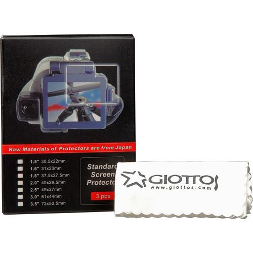 "Giottos 1.6"" LCD Screen Protector with"