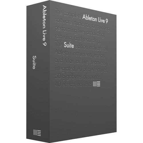 Ableton Live 9 Suite Upgrade -