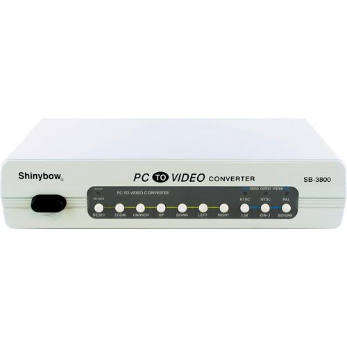 Shinybow VGA to S-Video Composite Converter