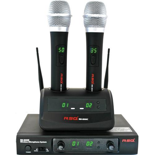 RSQ Audio RM-8000 Rechargeable Dual Channel