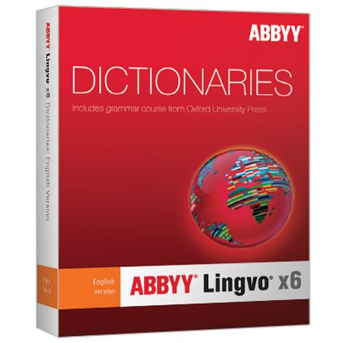 ABBYY Lingvo x6 English-Russian Dictionary