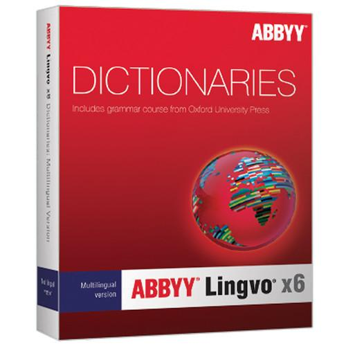ABBYY Lingvo x6 Multilingual Russian Dictionary