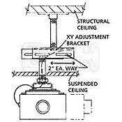 Chief X-Y Axis Adjustment Bracket