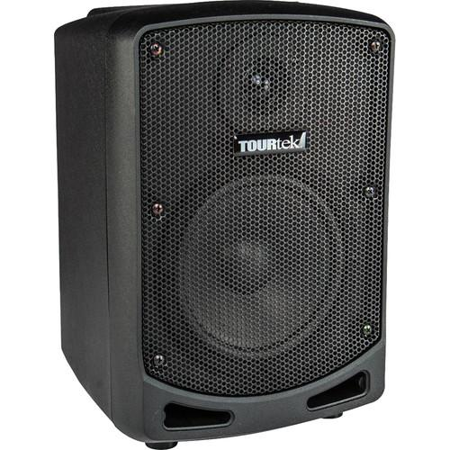 Tourtek TBX Powered Speaker, Rechargeable Battery,