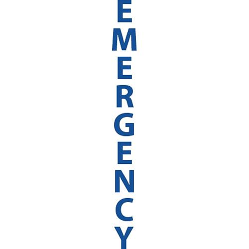 "Aiphone ""EMERGENCY"" Label Option for IS"