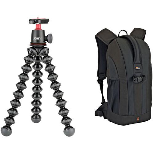 Joby Gorillapod 3K Tripod and Lowepro