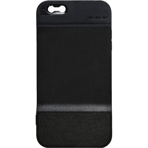 Moment Black Canvas Case for iPhone