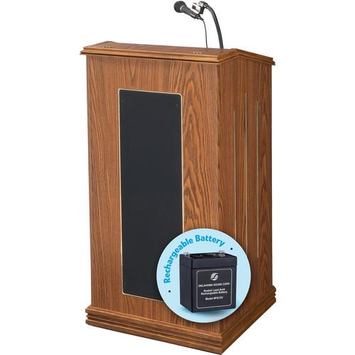 Oklahoma Sound Prestige Lectern with Rechargeable