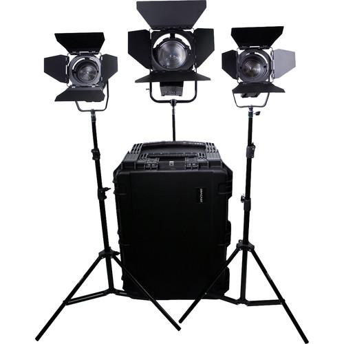 Dracast Led1400 Fresnel 3-Light Kit