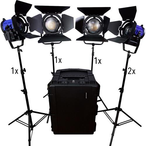 Dracast Led1900 Fresnel 5-Light Kit