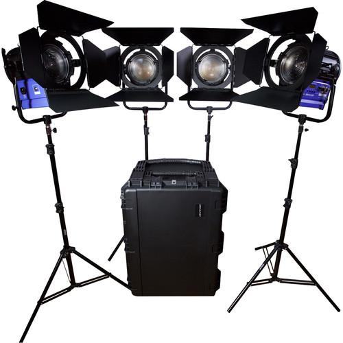 Dracast Led4000 Fresnel 4-Light Kit