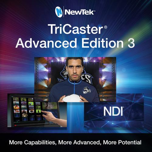 NewTek TriCaster Advanced Edition 3 Software