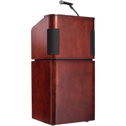 Oklahoma Sound Veneer Contemporary Table Lectern