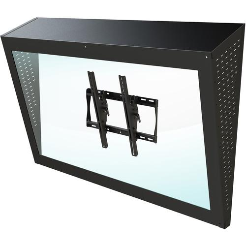 "Peerless-AV Ligature-Resistant Enclosure for 42-55"" Displays"