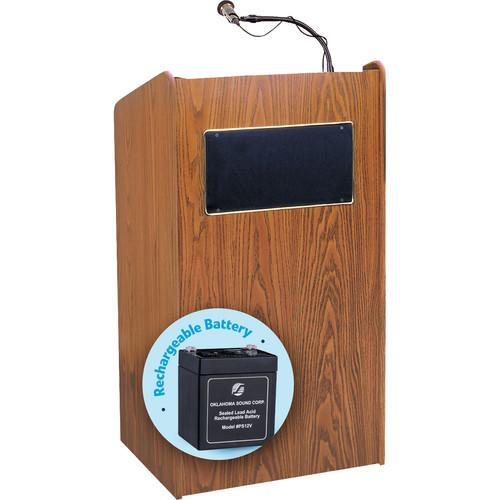 Oklahoma Sound Aristocrat Floor Sound Lectern