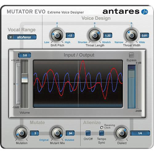 Antares Audio Technologies MUTATOR Evo -