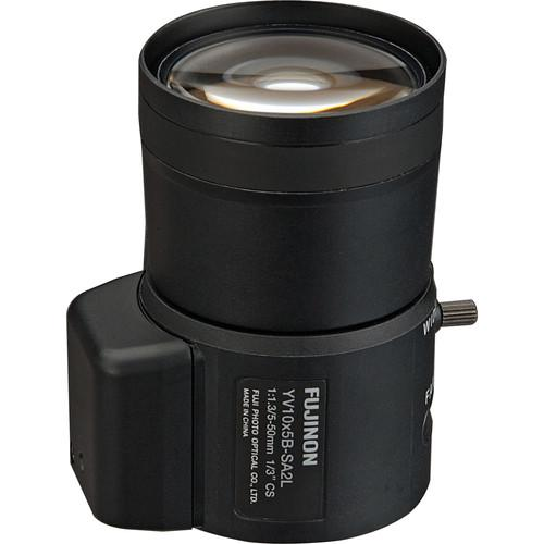 Fujinon CS Mount 5 - 50mm f 1.3 Varifocal Lens with DC Auto Iris