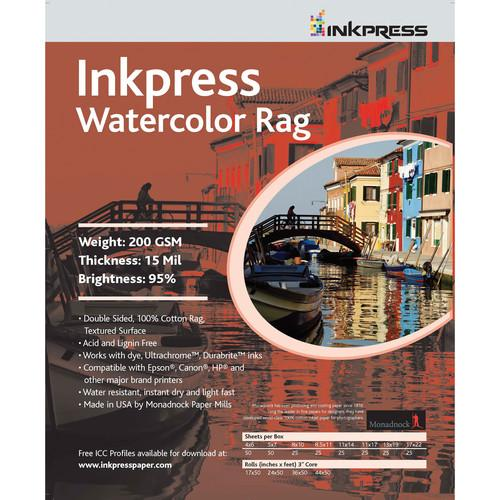 Inkpress Media Watercolor Rag