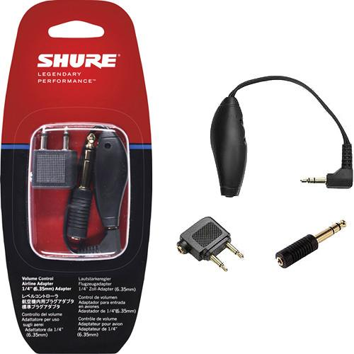 Shure EAADPT-KIT Headphone Adapter and Volume Control Kit