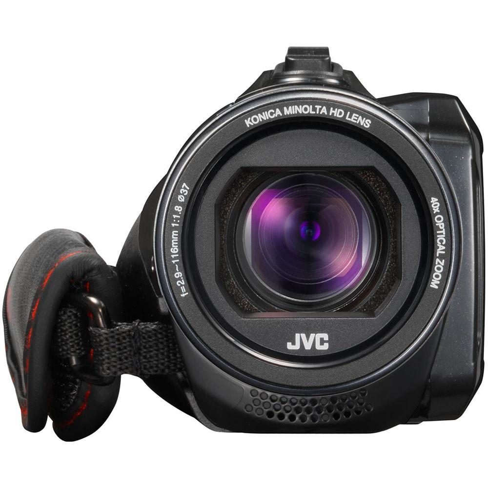 JVC GZ-R435BEU Quad-Proof HD Camcorder with 40x Optical Zoom
