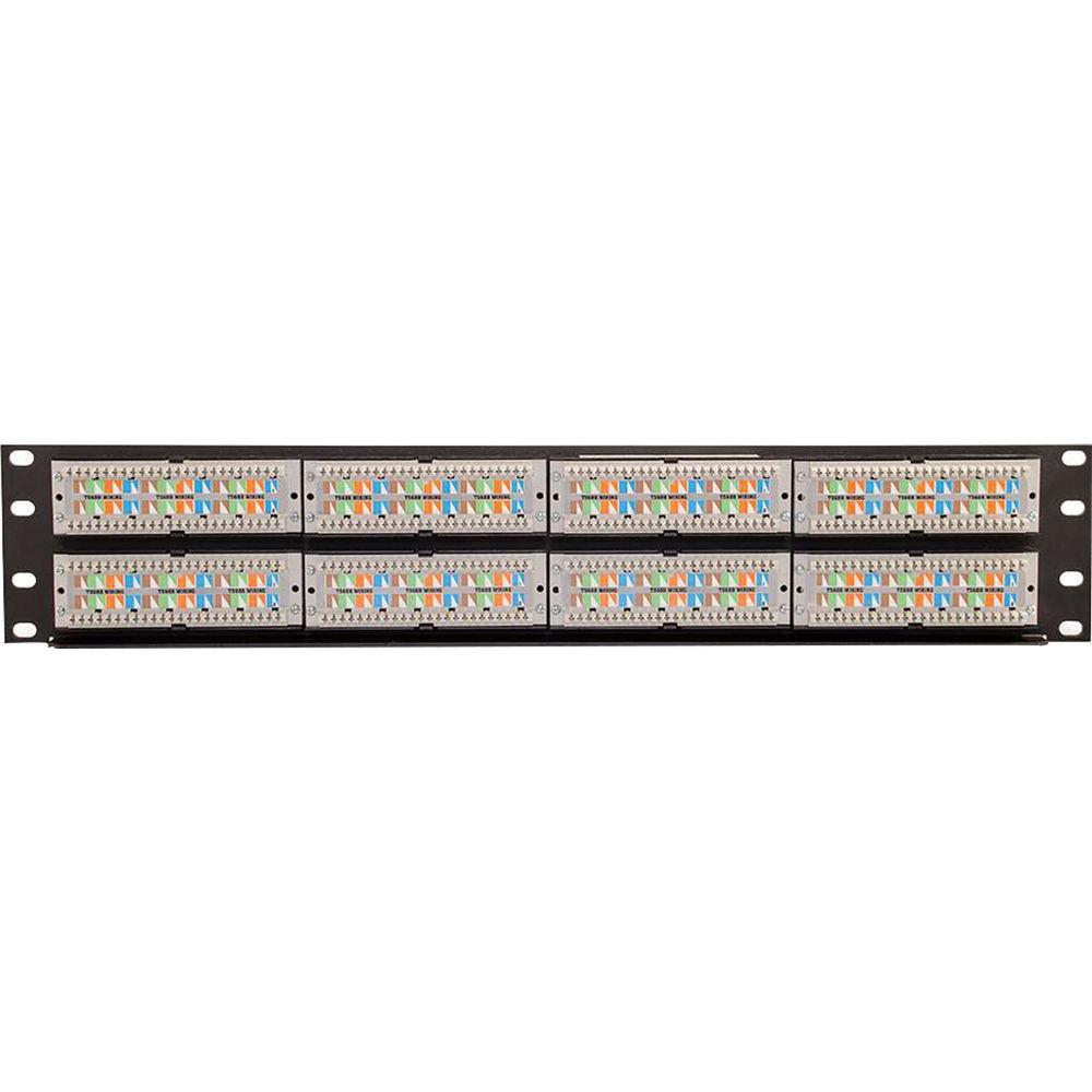 C2G 48-Port Cat 6 110-Type Patch Panel