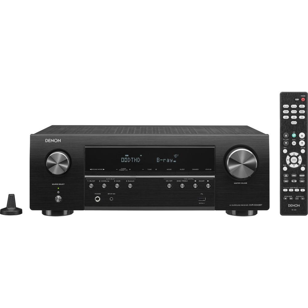 Denon AVR-S540BT 5.2-Channel A V Receiver