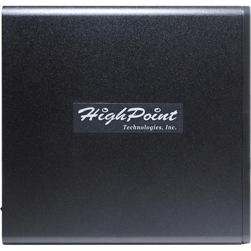 HighPoint rDrive 6114VW 4TB 4-Bay USB 3.1 RAID Array for Windows