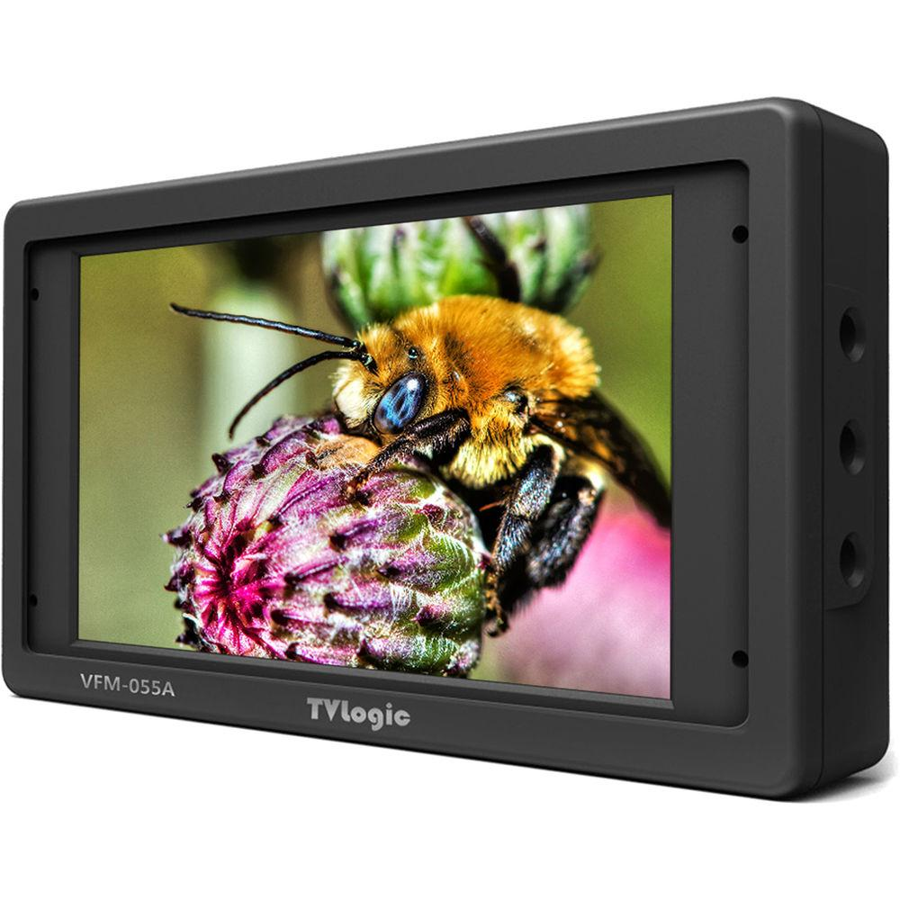 "TVLogic VFM-055A 5.5"" OLED On-Camera Monitor with L-Series Type Plate"