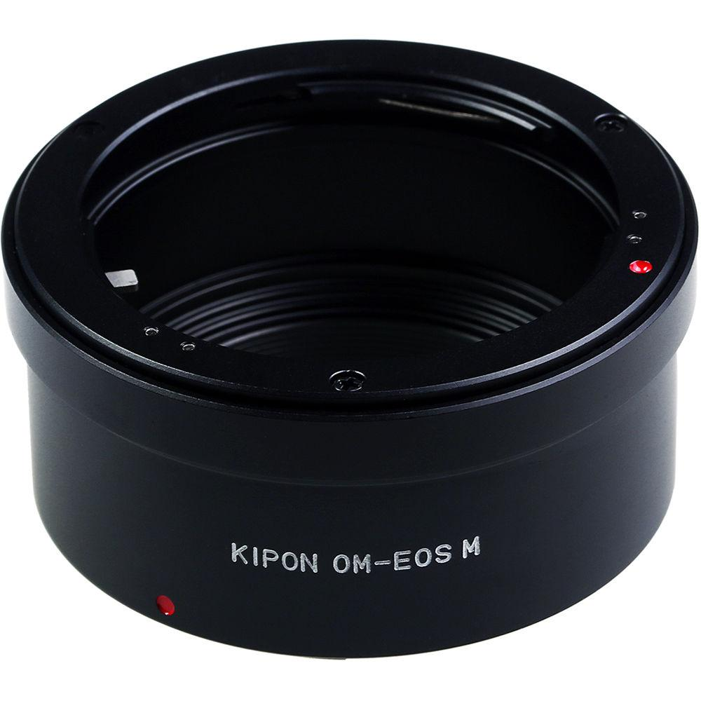 KIPON Lens Mount Adapter for Olympus OM-Mount Lens to Canon EF-M Mount Camera