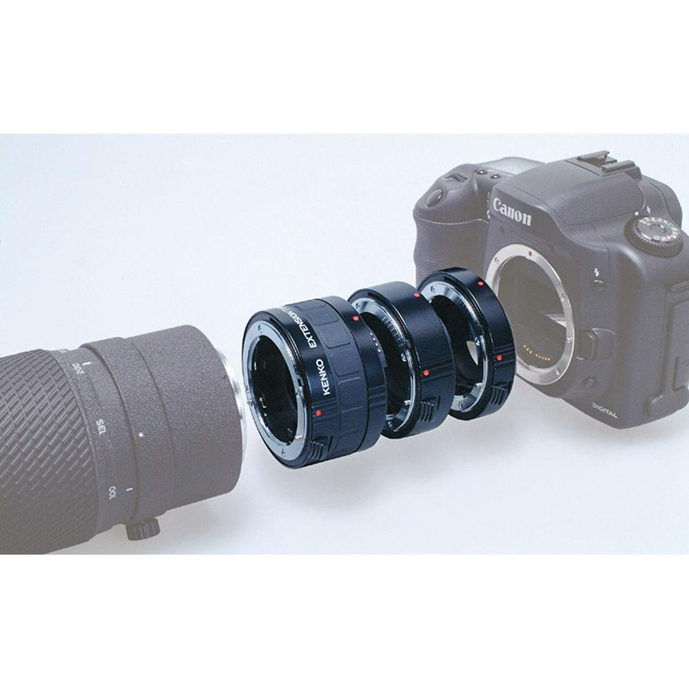 Kenko Auto Extension Tube Set DG for Nikon Lens